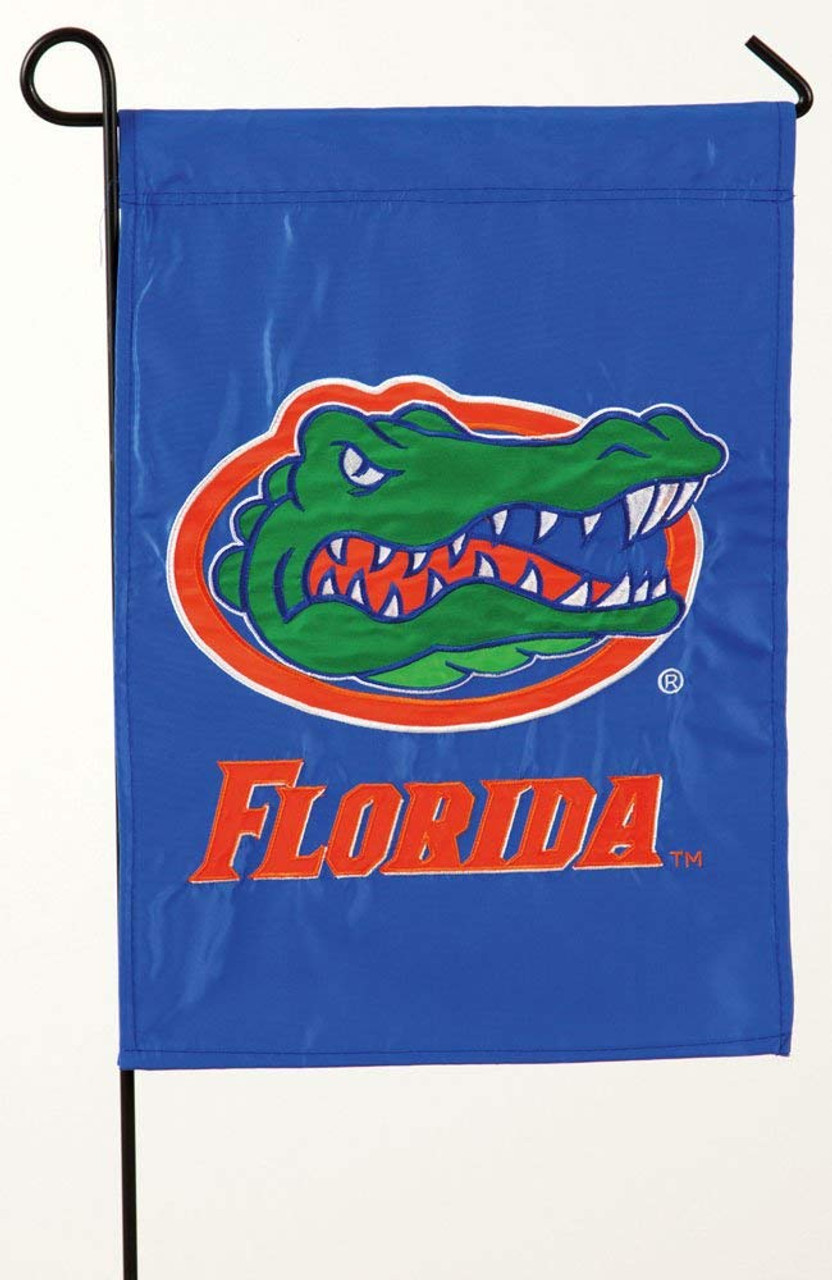 Florida Gators Appliqued Garden Flag