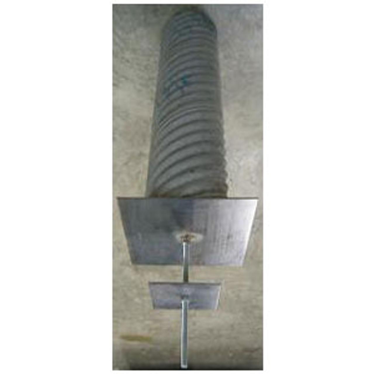 Corrugated Steel Flagpole Sleeve