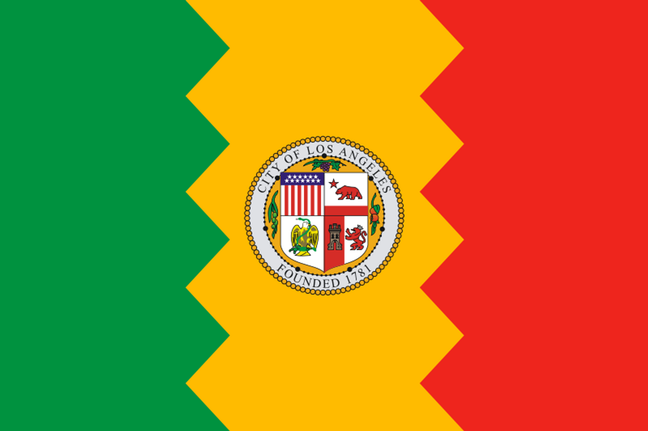6f83a844 City of Los Angeles Flag