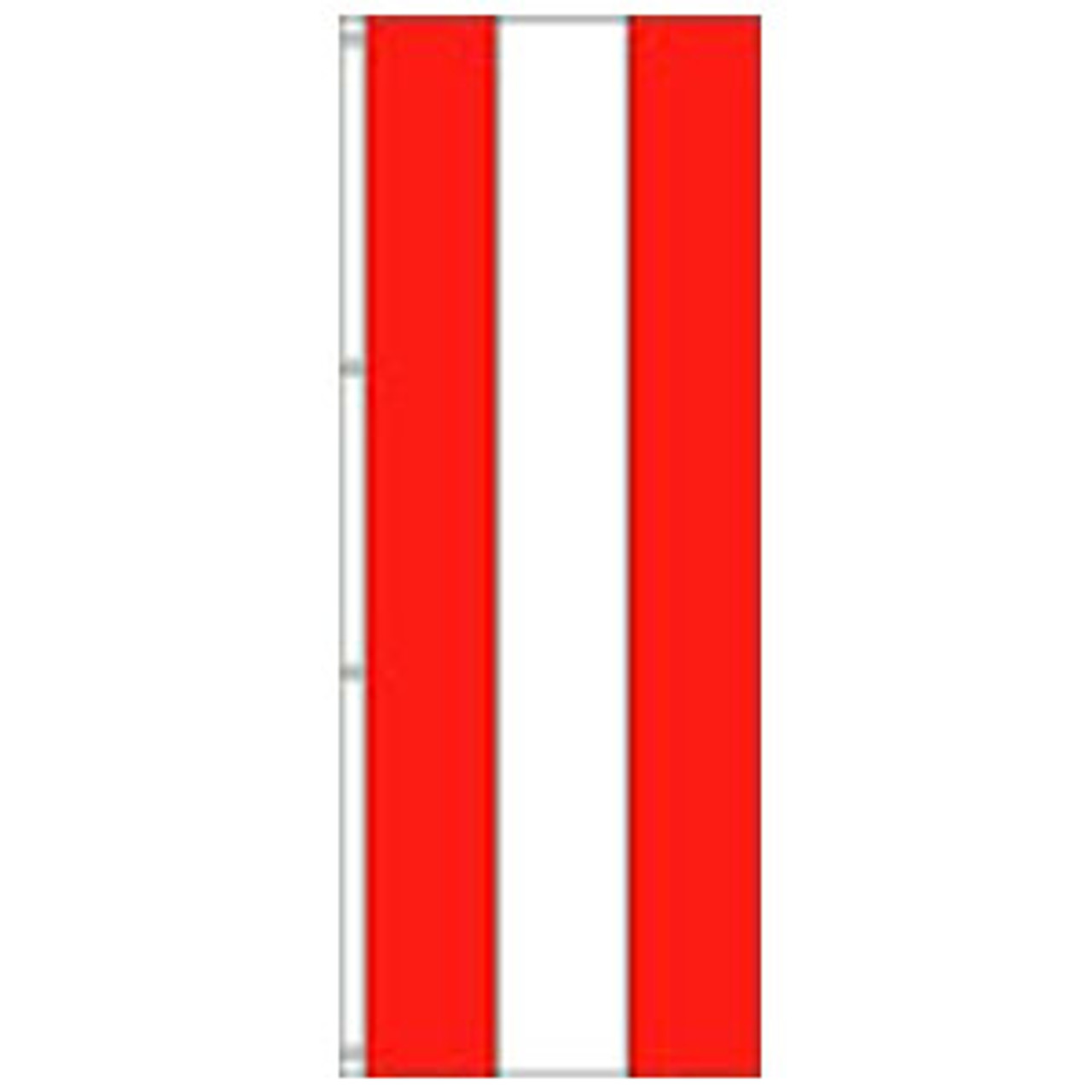 Attention 3-Stripe Solid Color Vertical Tall Flag