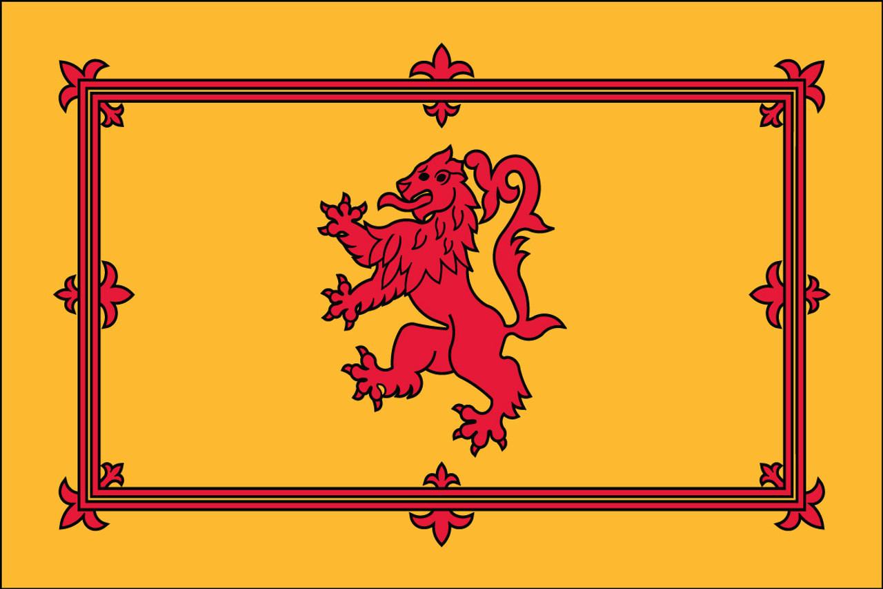 Scotland Royal Banner Rampant Lion Nautical Flag