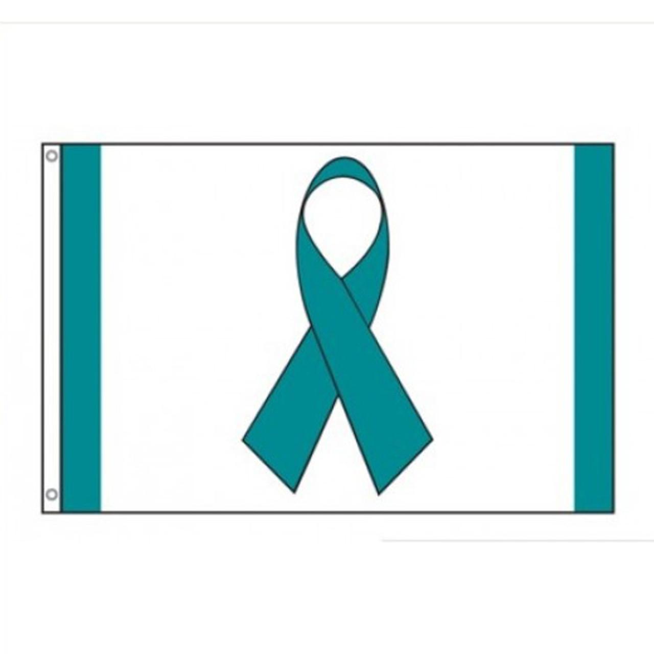 Ovarian Cancer Flag