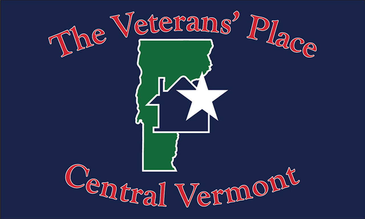 Veterans Place 3x5 Custom Flag