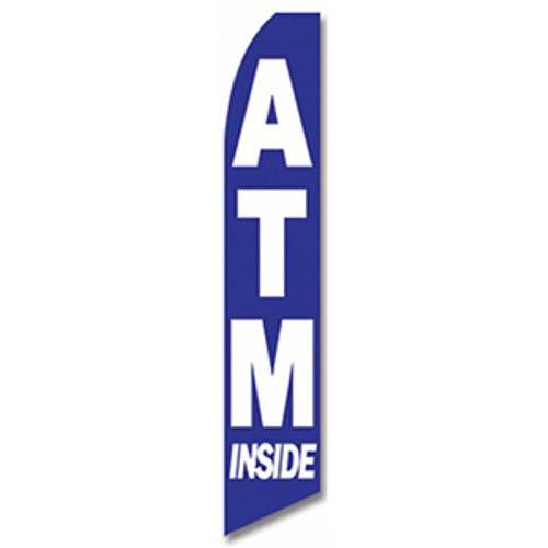 ATM Inside Feather Flag