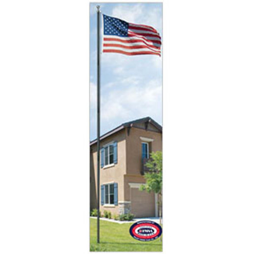 18' All American Bronze Flagpole
