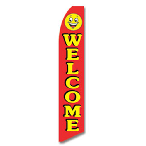 Welcome Feather Flag