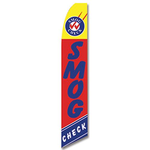 Smog Check #2 Feather Flag
