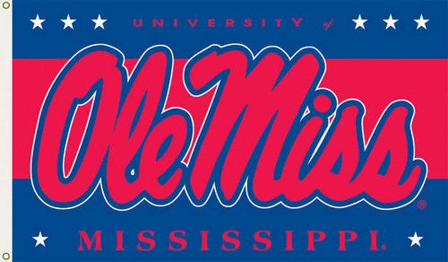 Ole Miss 3'x5' Flag