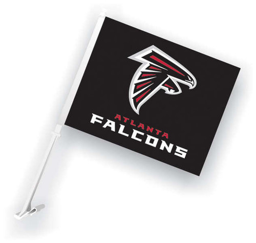 Falcons Car Flag