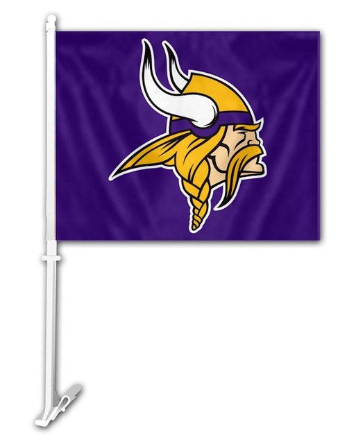 Minnesota Vikings Car Flags