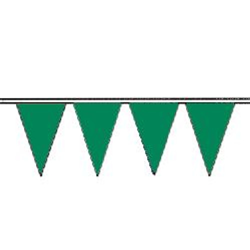 Green String Pennant