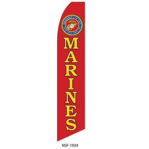 Marines Feather Flag
