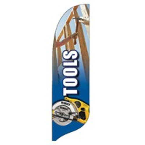 """""""Tools"""" Feather Flag"""
