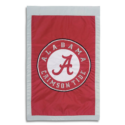 University of Alabama Appliqued House Banner