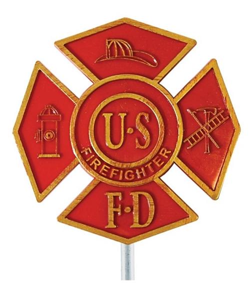 FireFighter Grave Marker