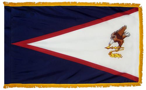 American Samoa Fringed Flag