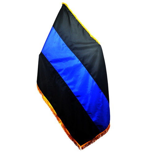 Thin Blue Line 4 x 6 Foot Indoor/Parade Flag