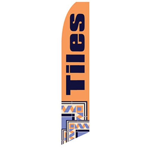 Tiles Feather Flag