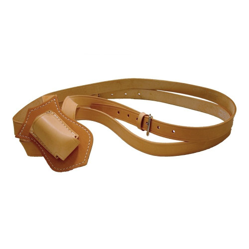Russet Leather Double Strap Parade Carrying Belt