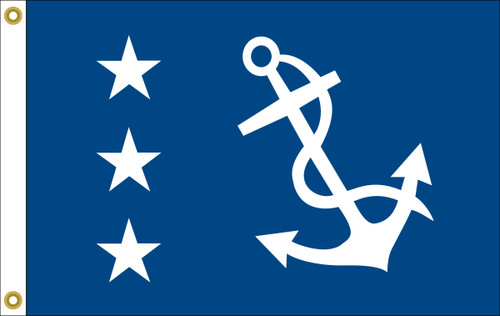 Past Commodore Yacht Club Flag (printed)