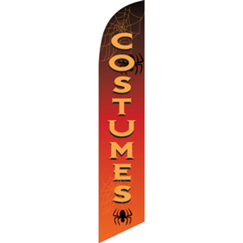 Costumes (Halloween) Semi Custom Feather Flag Kit