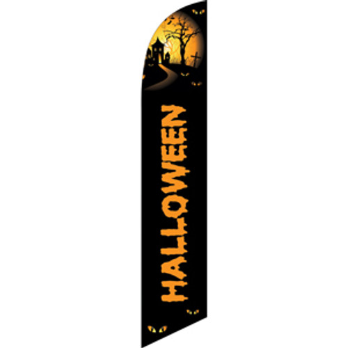 Halloween (haunted house) Semi Custom Feather Flag Kit