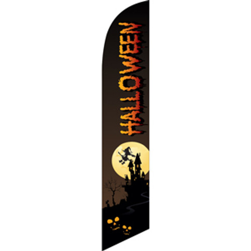 Halloween (witch) Semi Custom Feather Flag Kit