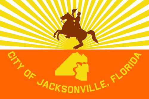 City of Jacksonville Flag