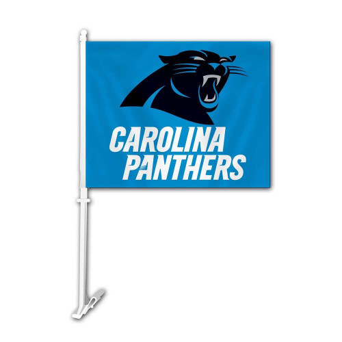 Carolina Panthers NFL car flag