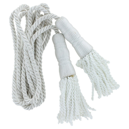 White Cord & Tassel