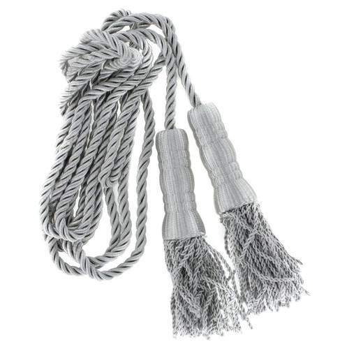Silver Cord & Tassel