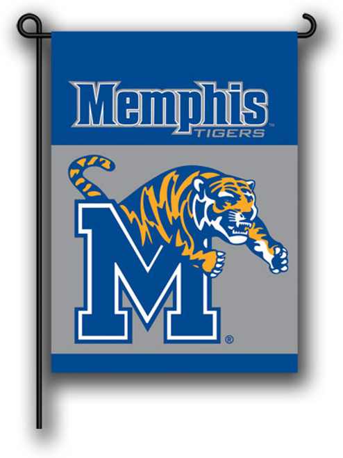 University of Memphis Tigers Printed Garden Flag