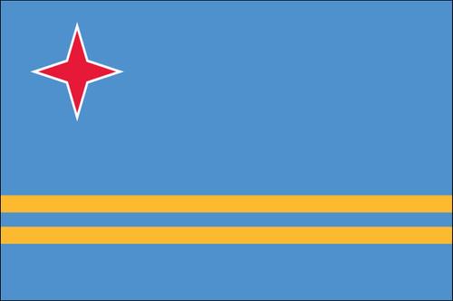 Aruba Nautical Flag