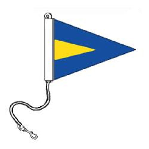 1st Repeater Pennant (Rope and Snap Hook)