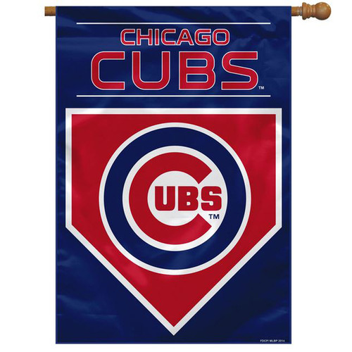 Chicago Cubs Two-Sided House Banner