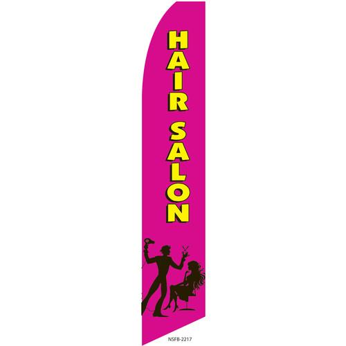 Hair Salon Feather Flag