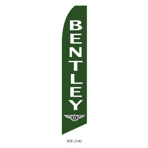 Bentley Dealership Feather Flag (green)