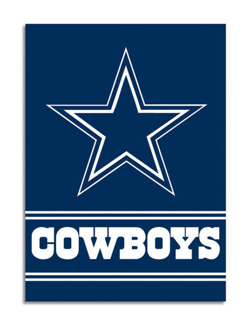Dallas Cowboys 2-Sided House Banner