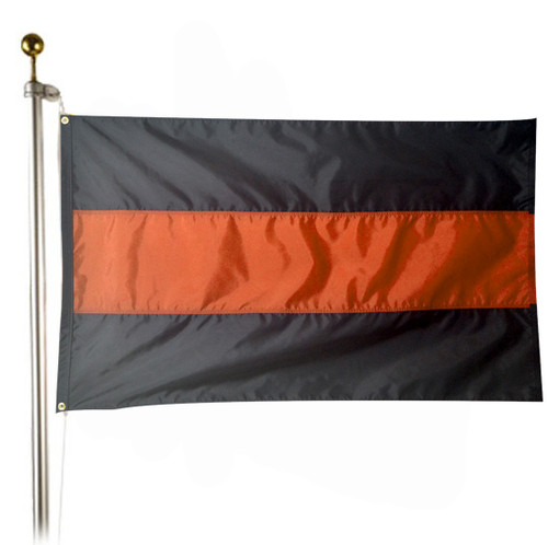 Thin Orange Line 3x5 ft. Flag