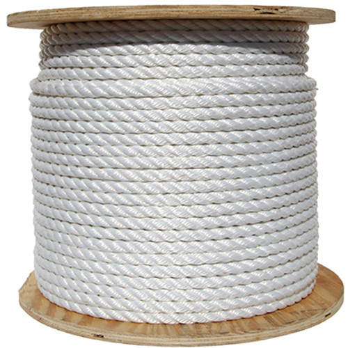 white spool of rope