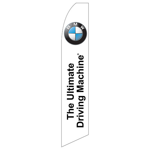 """""""The Ultimate Driving Machine"""" (BMW) Feather Flag"""