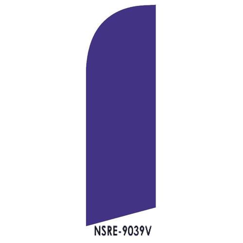 Violet 6ft Feather Flag