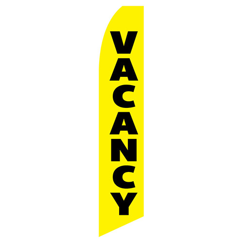 Vacancy Feather Flag