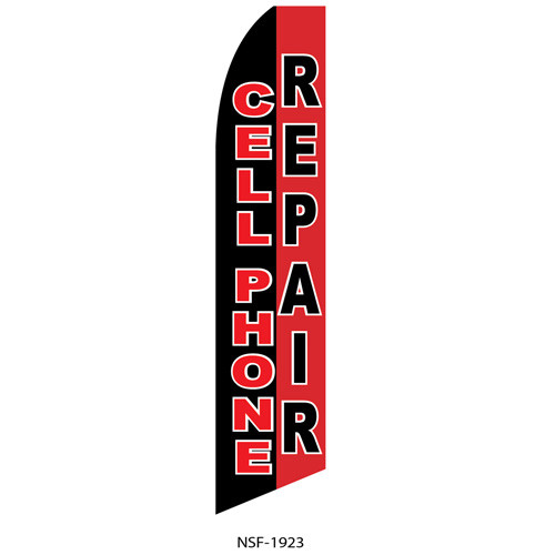 Cellphone Repair Feather Flag