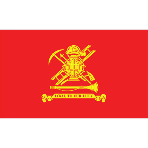 Fireman's Loyal to Our Duty 3x5 Flag