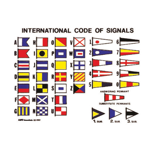 Complete Set - International Code of Signals (with Ash Toggles)