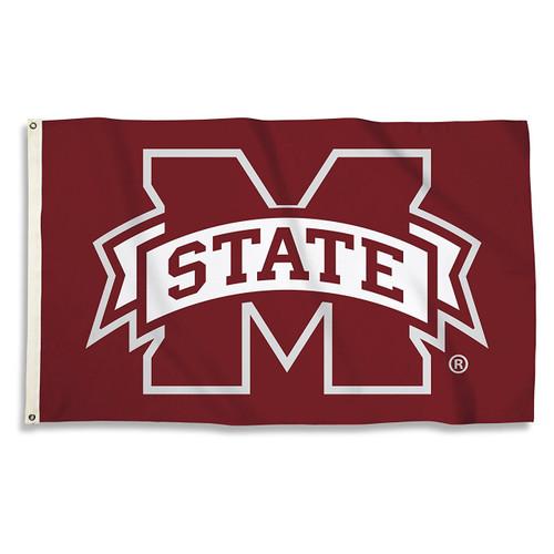 Mississippi State Bulldogs 3 x 5 Flag