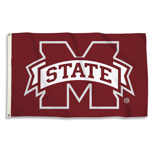 Mississippi State Bulldogs 3 x 5 Flag