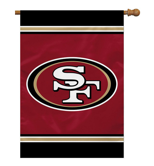San Francisco 49ers One-Sided House Banner