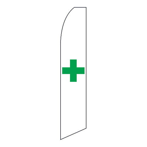 Marijuana Dispensary Feather Flag